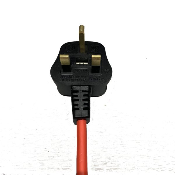 13a Plug to IEC C13 Test Lead for PAT Testers